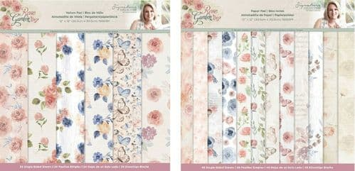Sara Signature Collection - Rose Garden Papers by Crafter's Companion
